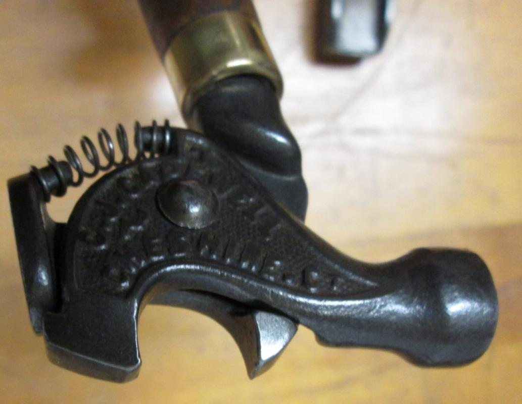 Capewell Tack puller Hammer Patented 1873