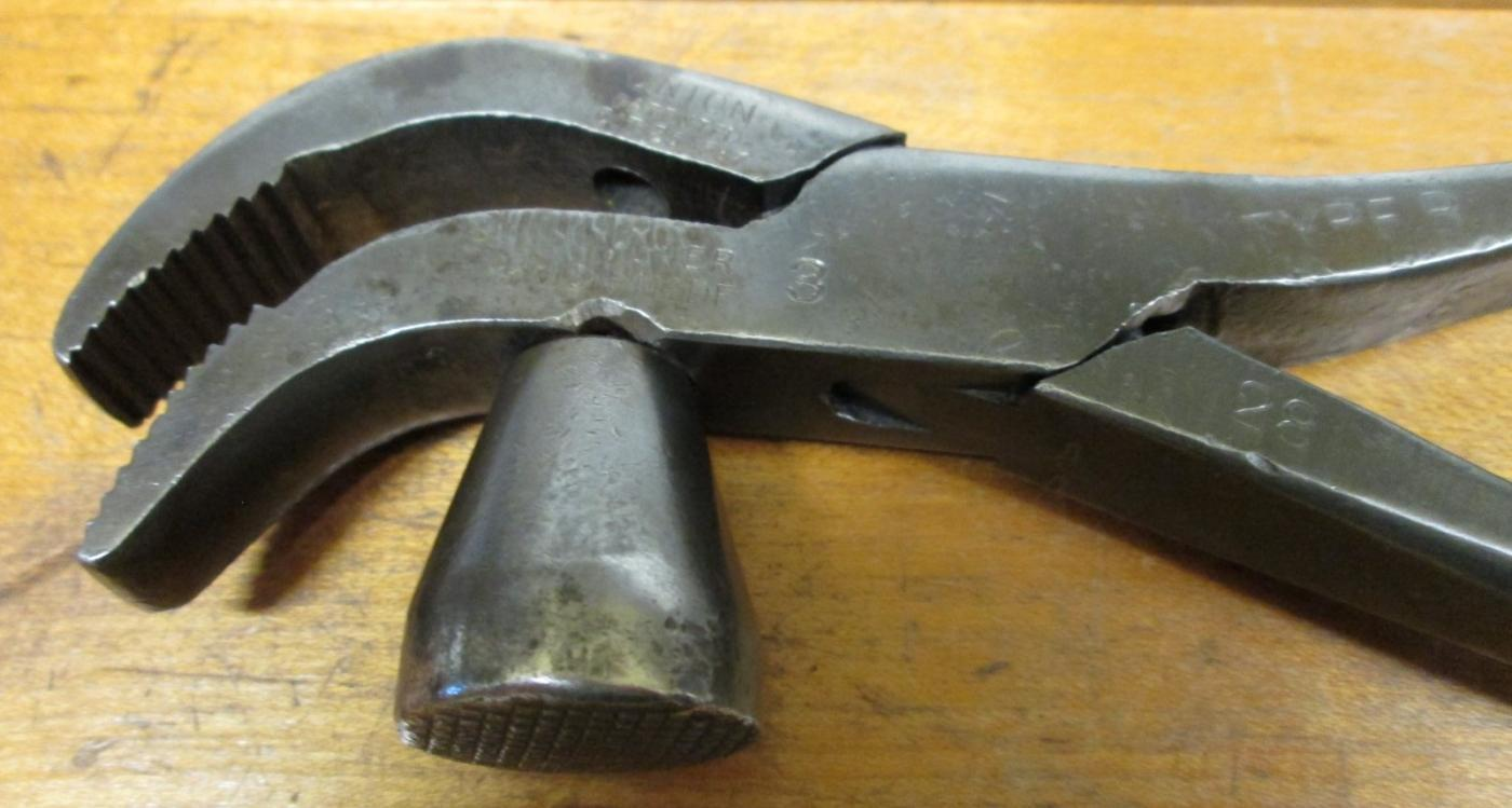 Union Lasting Pliers/Hammer/Puller Patented 1887