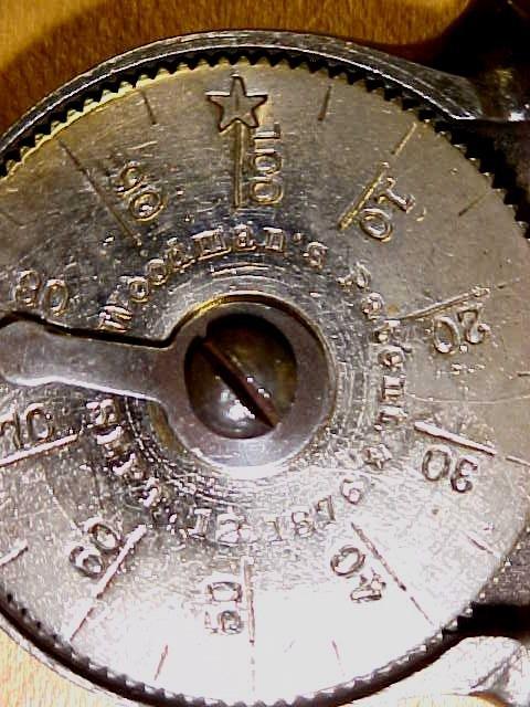 Woodman's Tachometer Speed Indicator Ornate 1876 Patent