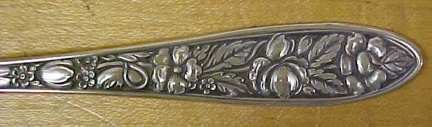 MET ROSE Flatware Silverplate Ladle Triple Plated