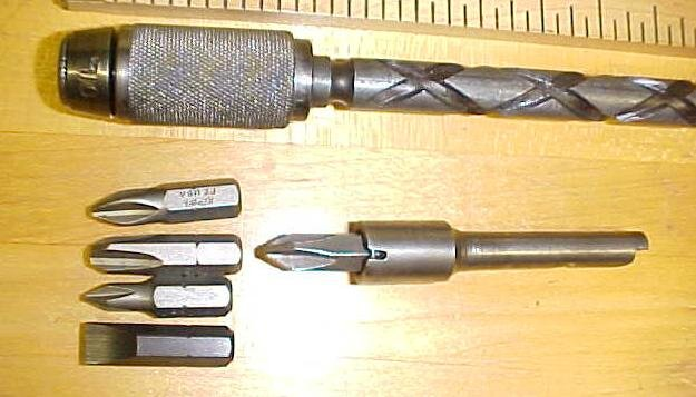 North Brothers Yankee No. 30A Screwdriver w/Hex Adapter