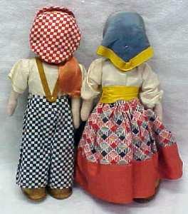 Ethnic  Doll Boy & Girl Magis Eros Italy