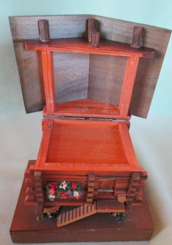 Music Box Little Cottage on Stilts
