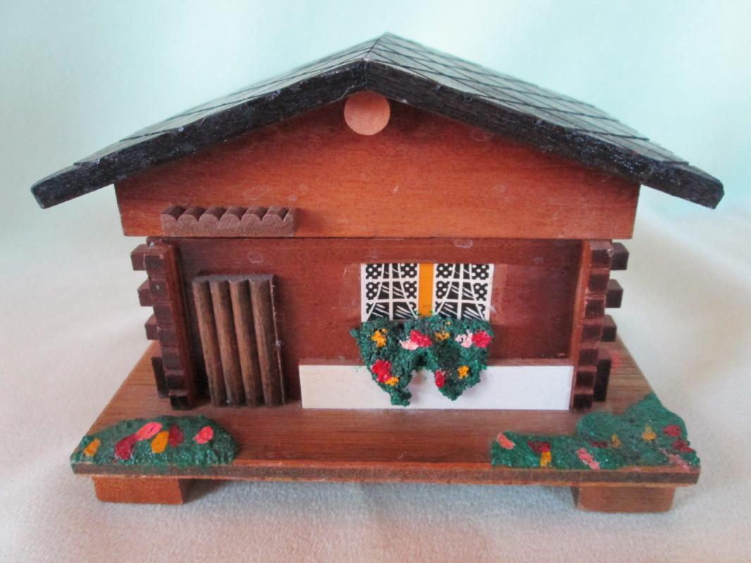 Music Box Swiss Cottage Dr. Zhivago