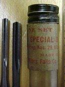 Millers Falls Yankee Screwdriver Drill Bit Set No. 29/67A/670A