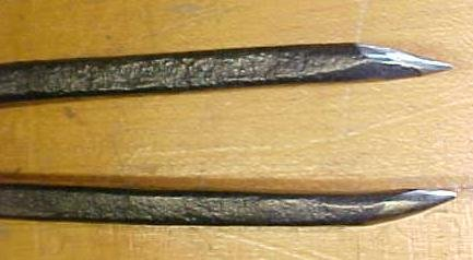 Antique Wing Divider Hand Forged Unique!  11 inch