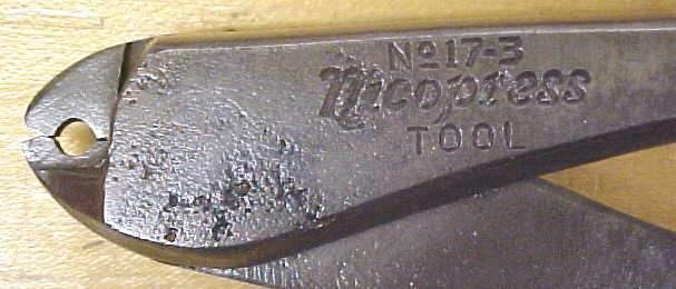 Nicopress Telephone Line Pliers  National Telephone Supply
