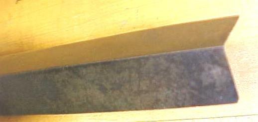 Antique Cast Steel Corner Chisel 3/4 inch Rare!