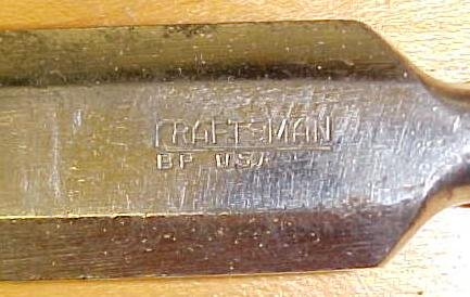 Craftsman Chisel Socket Beveled 3/4 inch