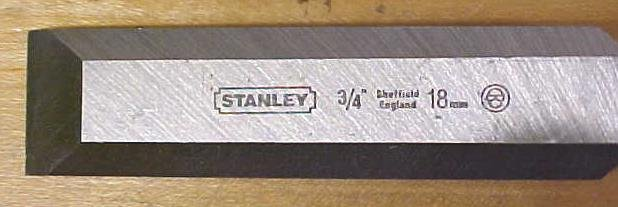 Stanley Fat Max Butt Chisel 3/4 inch New Old Stock