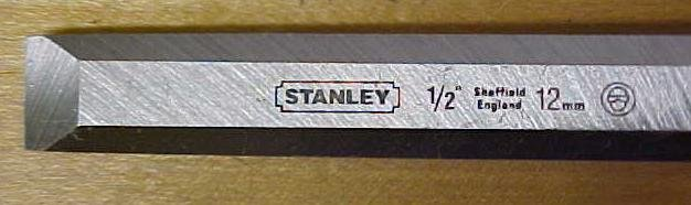 Stanley Fat Max Butt Chisel 1/2 inch New Old Stock
