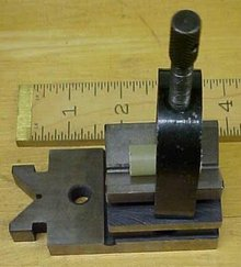 Precision V-Block Hardened w/Clamp