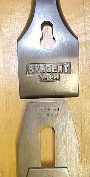 Sargent No. 409 VBM Smooth Plane No. 4 Size