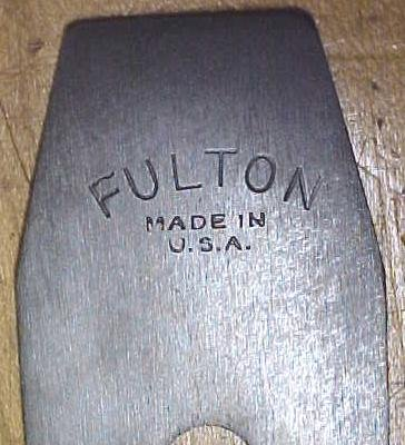 Fulton Smooth Plane 1930's Era No. 3 Size