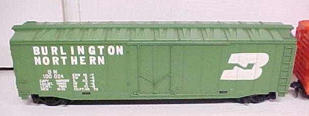 Train Cars HO Scale New Haven Burlington (2) Box Cars