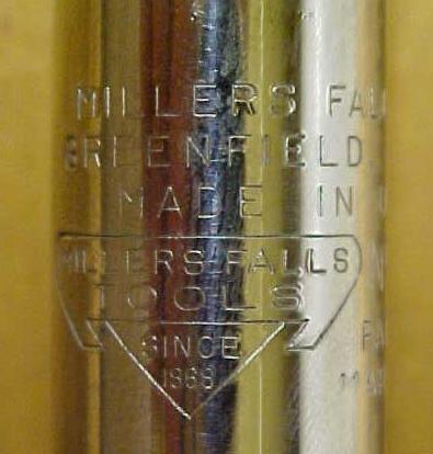 Millers Falls Yankee Ratchet Screwdriver No.  610A