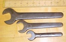Herbrand Machine Wrench Open End (3) Different Lot