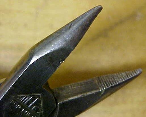 Miltex Pliers 4 inch Long Nose West Germany