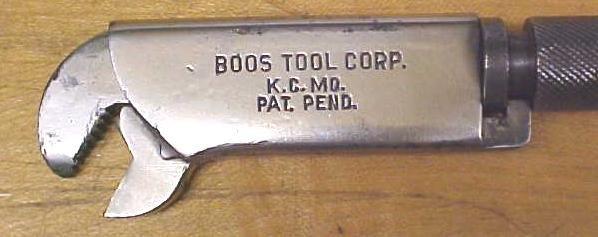 Boos Tool Co. Adjustable Wrench 6 inch