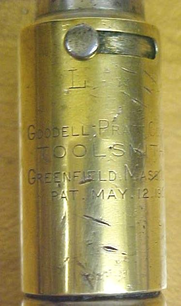 Goodell-Pratt Spiral Screwdriver Ca. 1908 Reverseable Ratchet