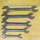 Williams Wrench Double Head Opened End Set of 5