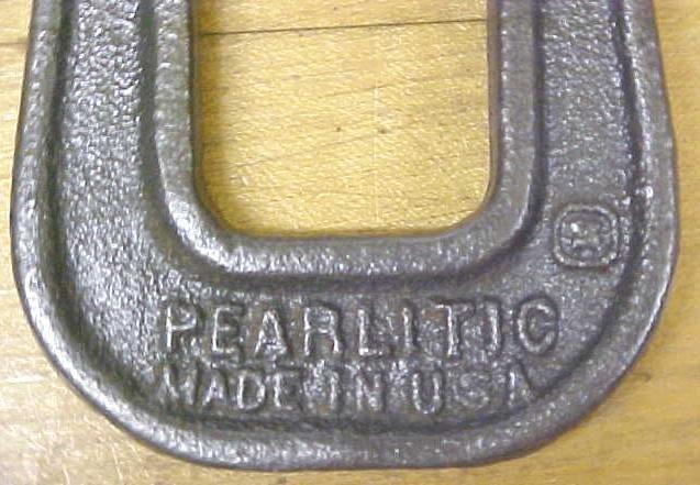 Craftsman C-Clamp Deep Reach Pearlitic