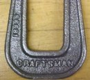 Craftsman C-Clamp Deep Reach Pearlitic