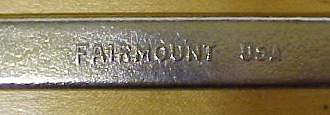 Fairmount Wrench Open Ended 3/4 & 7/8 inch