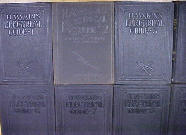 Hawkins Electrical Guide Set of 10 ca. (1923-27)