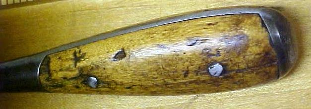 Antique Screwdriver Knife Wood Handle 11 inch
