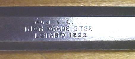 Ohio Tool Chisel Socket Bevel 1/2 inch High Grade Steel