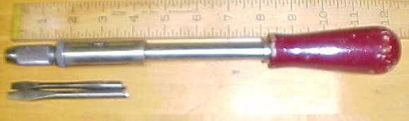 North Bros. Yankee Spiral Ratchet Screwdriver No. 130A