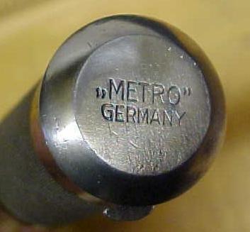 Metro Yankee Push Drill Rare! Germany w/8 Bits