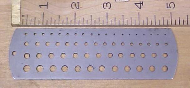 Brown & Sharpe Twist Drill Gage Gauge No. 705