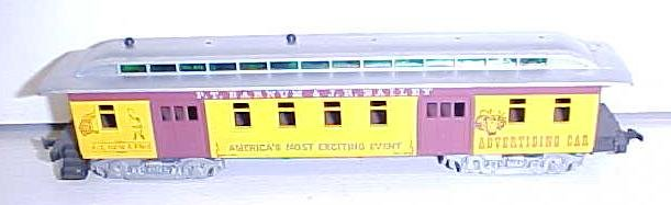 Train Cars HO Scale Barnum & Bailey (3) Cars