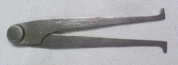 P. Lowentraut Inside Calipers 4 inch