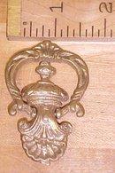 Antique Drawer Pulls Ornate Hardware Brass Hinged
