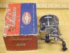 Shakespeare Level Wind Reel No. 1944 + Box