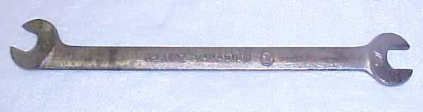 Bonney No. 401A Open Ended Wrench