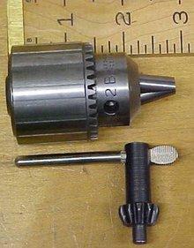 Jacobs Drill Chuck 0-3/8 No. 2B w/ Key