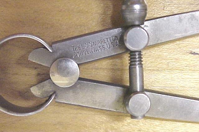 Starrett No. 73 Inside Spring Calipers 3 Inch