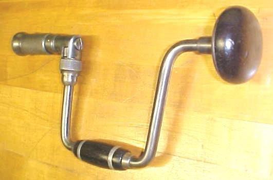 McIntoch Ratchet Brace 10 inch Swing Antique