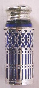 Rogers Salt Pepper Shaker Sets 2 + Box Blue