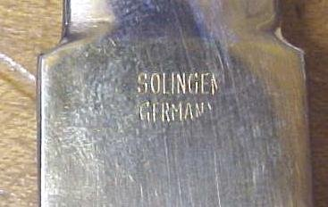 Solingen Letter Opener Germany
