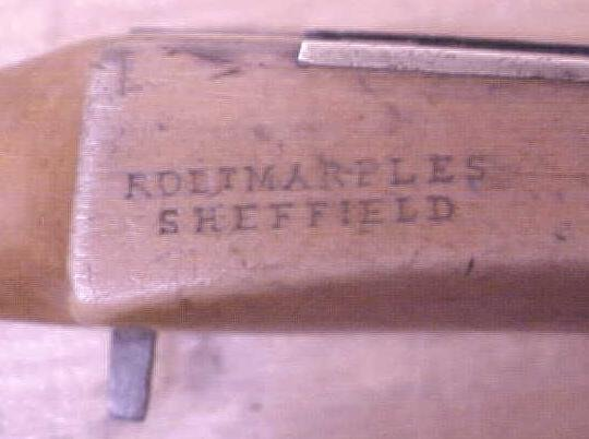 Marples Spoke Shave Wood Handles Antique