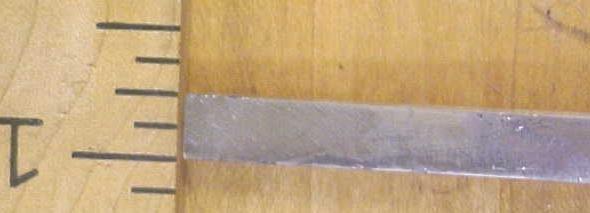 Craftsman Chisel Socket Beveled 1/4 inch