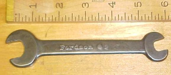 Fordson Wrench Open End 7/16-5/8