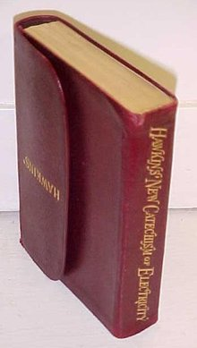 Hawkins New Catechism of Electricity Leather Rare!