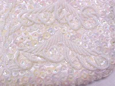Evening Wedding Bag Purse Beads Sequins
