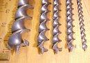 Superior Brace Auger Bit Set  Cast Steel